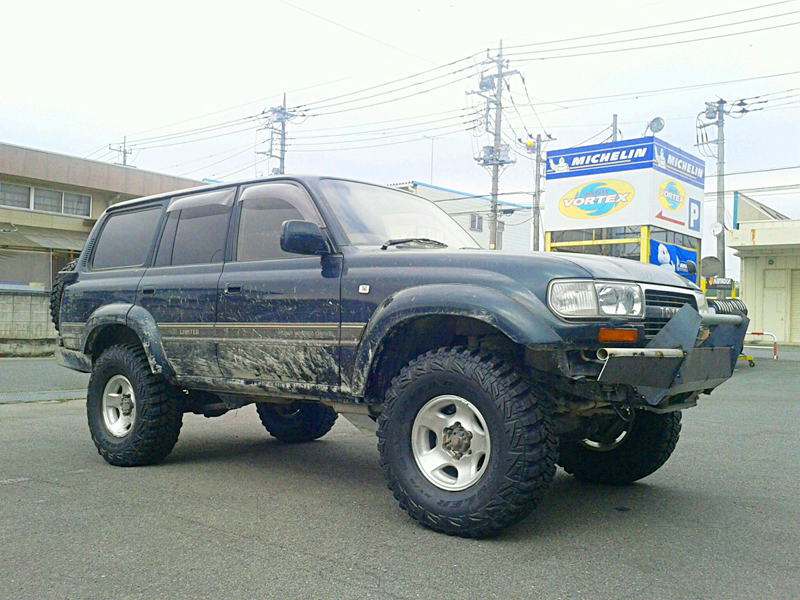 [TOYOTA LAND CRUISER 80]WHEEL LAND CRUISER 純正 TIRE GOOD YEAR WRANGLER MT/R with Kevlar 315/75R16